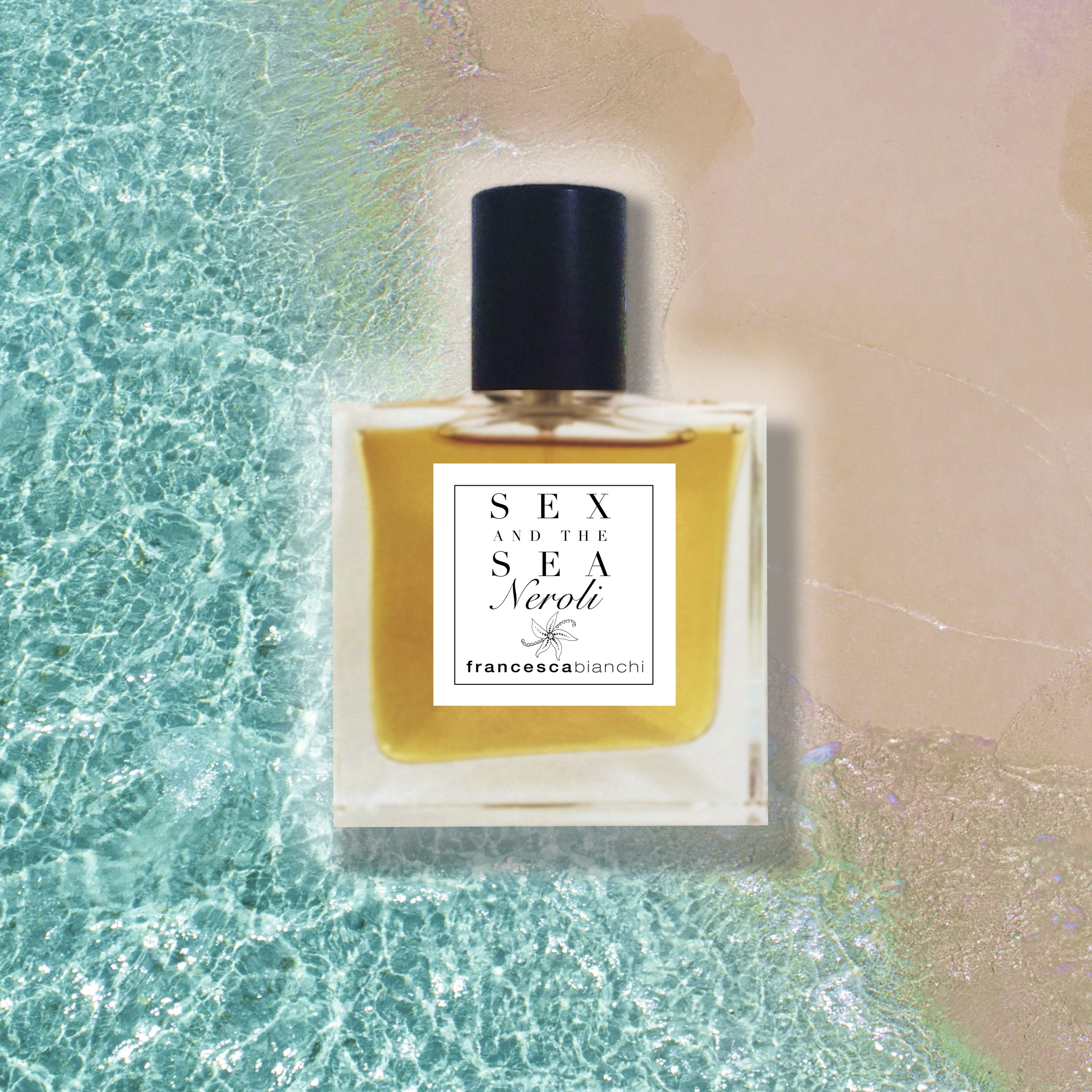 Sex and the Sea NEROLI SQUARE 02 | Francesca Bianchi Perfumes