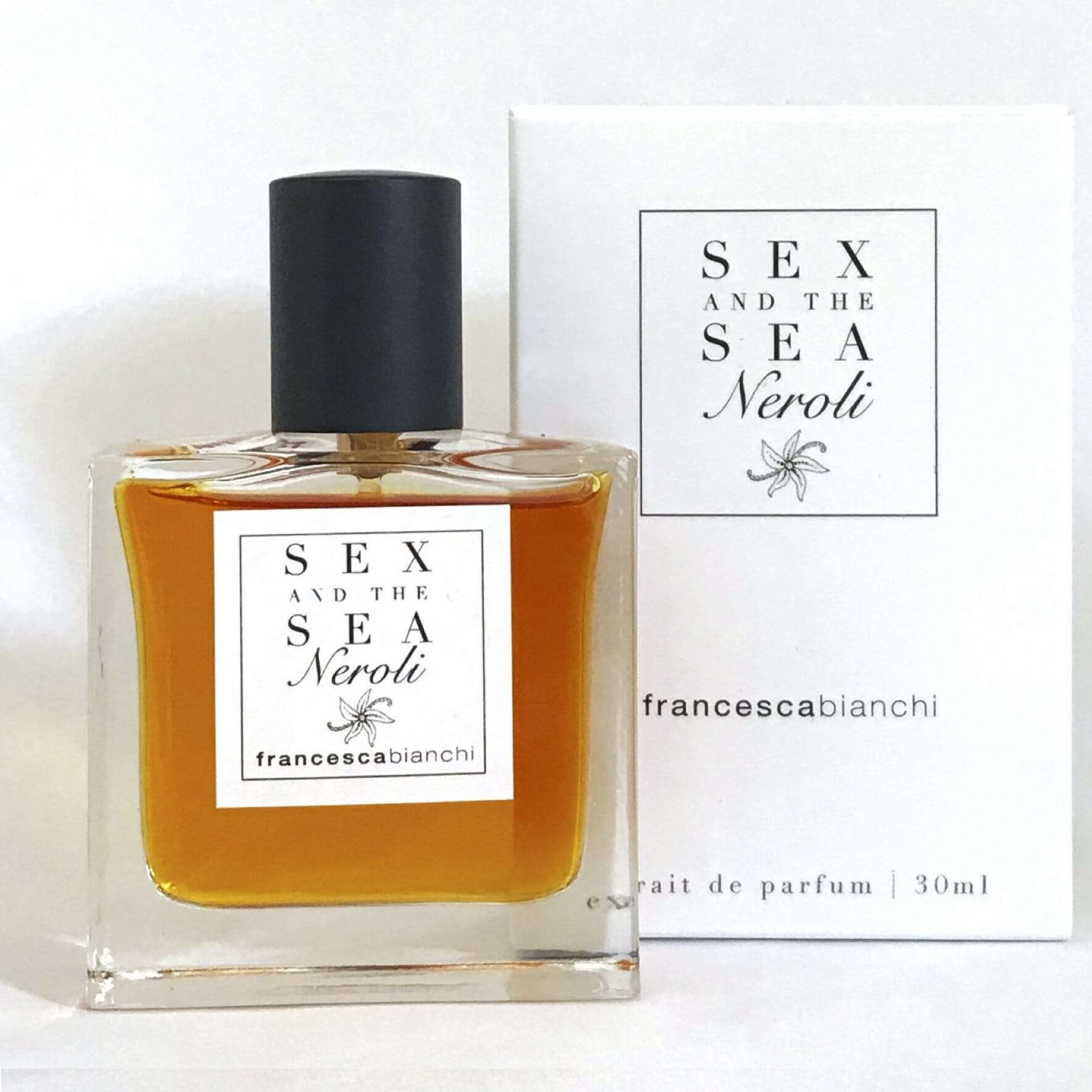 Sex and The Sea Neroli perfume 30 ml Francesca Bianchi Perfumes with box